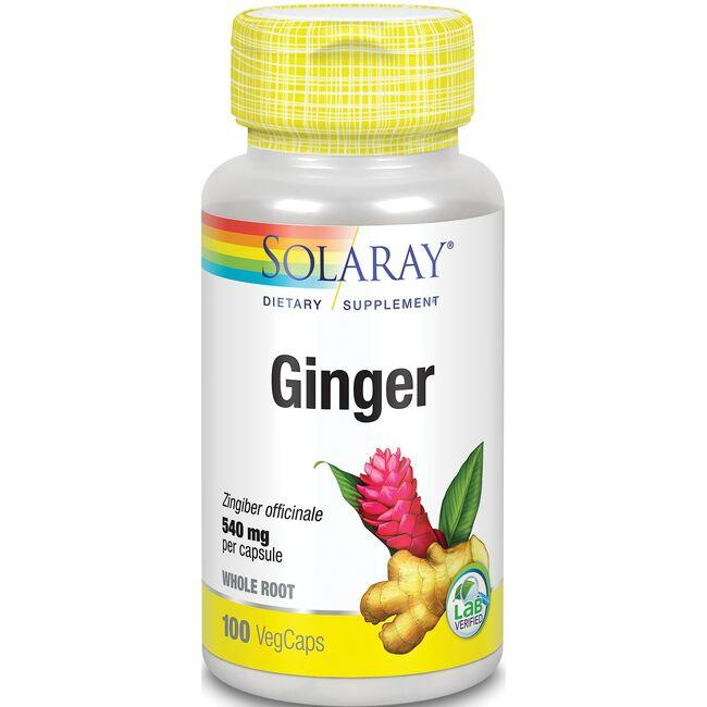 Solaray Organically Grown Ginger