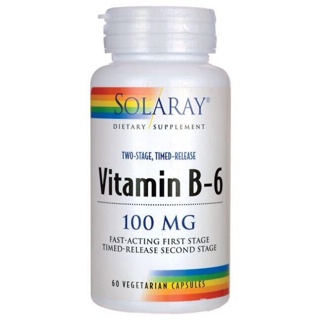 Solaray Two Stage Timed Release Vitamin B-6
