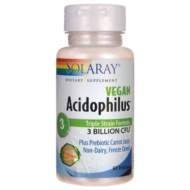 SolarayVegan Acidophilus Plus Carrot Juice