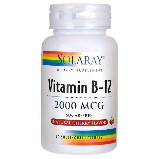 Solaray Vitamin B-12 - Cherry
