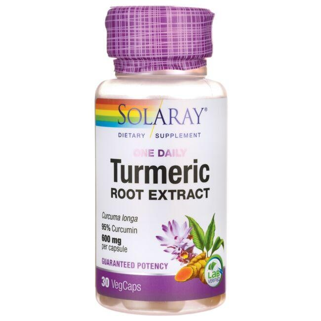 Solaray One Daily Turmeric Root Extract
