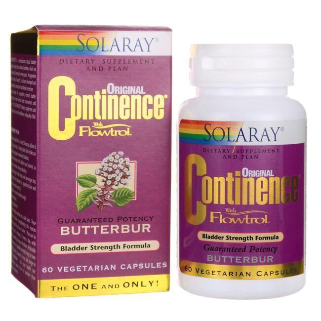 Solaray Original Continence with Flowtrol