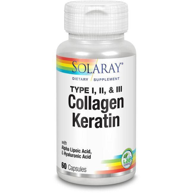 Solaray Type I, II & III Keratin Collagen