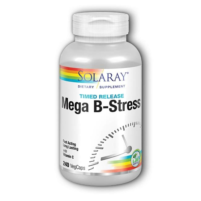 Solaray Timed Release Mega Vitamin B-Stress