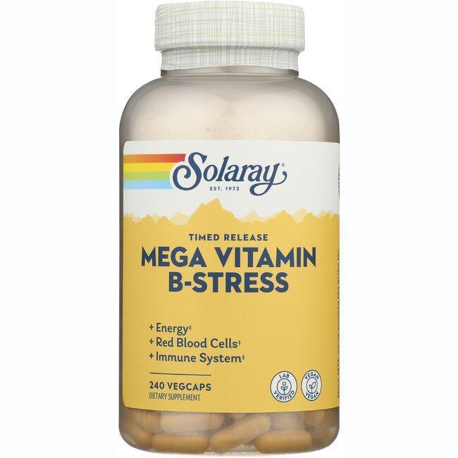 SolarayTimed Release Mega Vitamin B-Stress