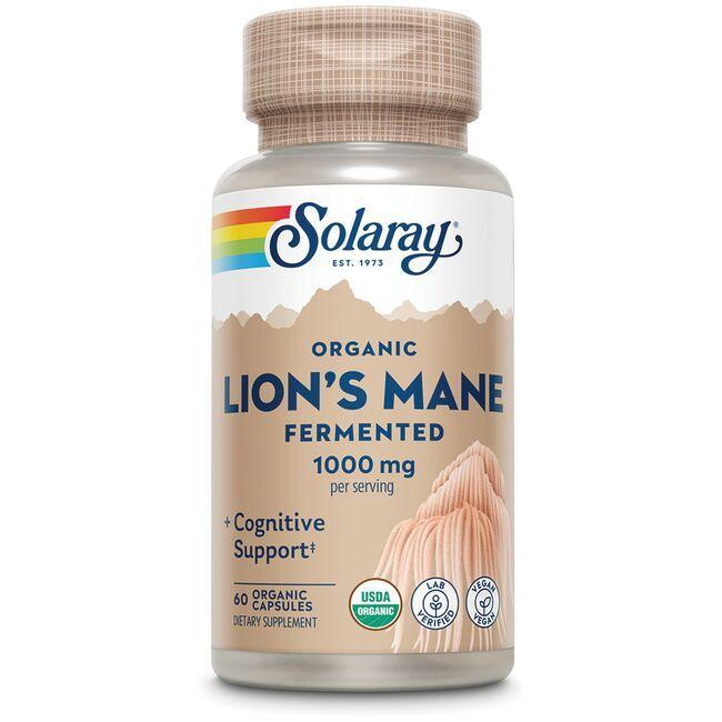 SolarayOrganically Grown Fermented Lion's Mane Mushroom