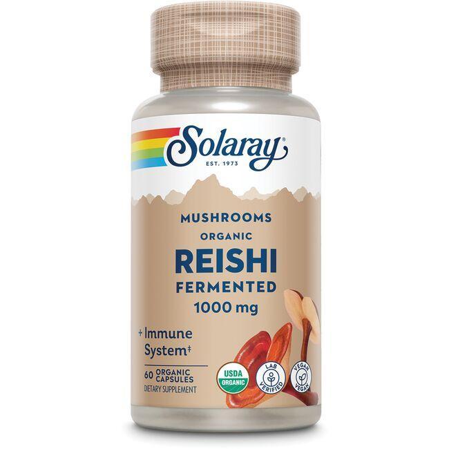 SolarayOrganically Grown Fermented Reishi Mushroom