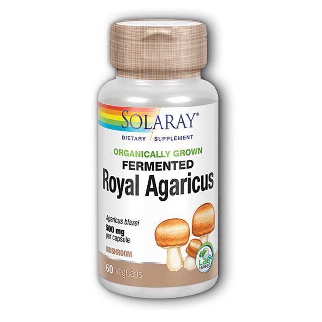 SolarayOrganically Grown Fermented Royal Agaricus Mushroom