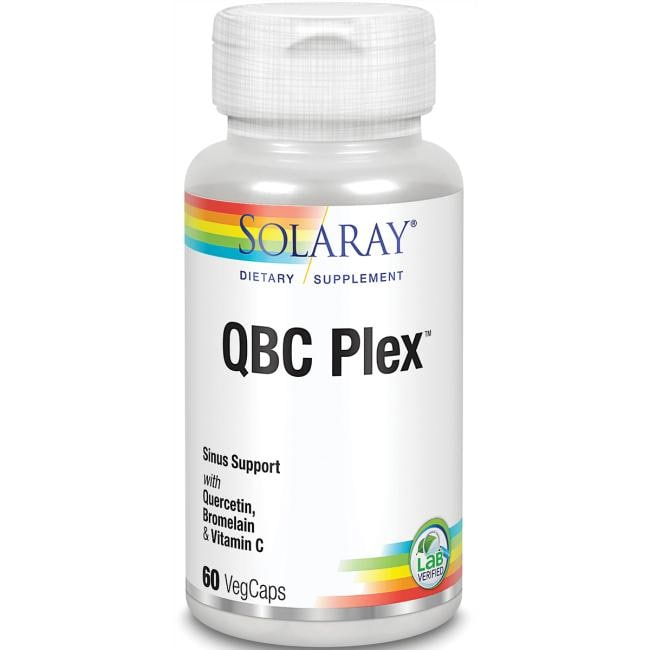 SolarayQBC Plex, Quercetin & Bromelain plus Vitamin C