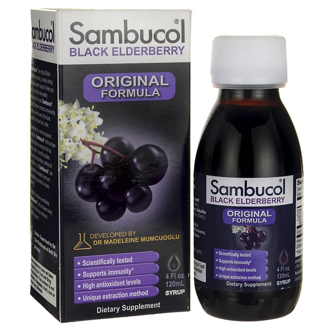 Sambucol elderberry
