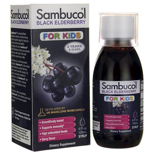 SambucolBlack Elderberry Syrup for Kids