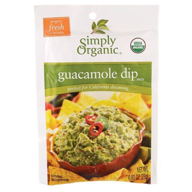 Simply OrganicGuacamole Dip Mix