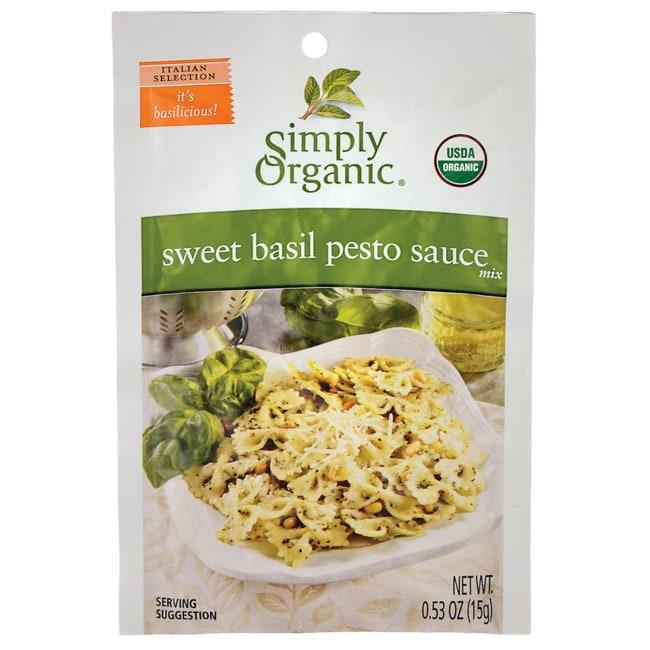 Simply Organic Sweet Basil Pesto Mix