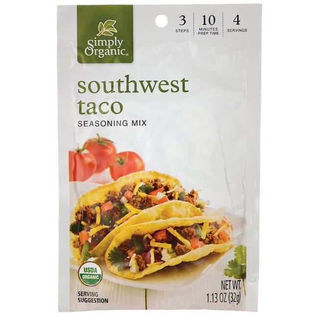 Simply Organic Southwest Taco Seasoning Mix