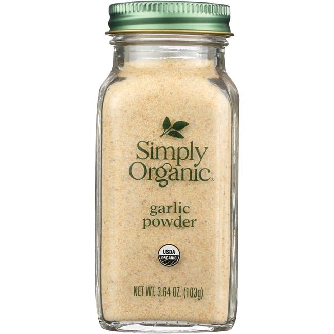 Simply Organic Ajo en polvo