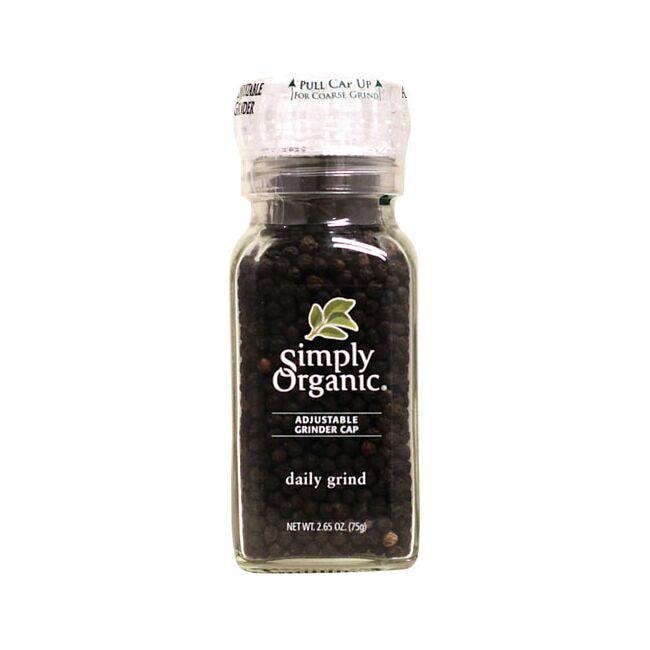 Simply OrganicDaily Grind Black Peppercorn