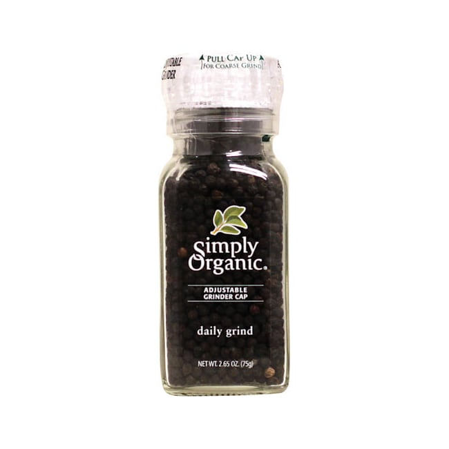 Simply Organic Daily Grind Black Peppercorn