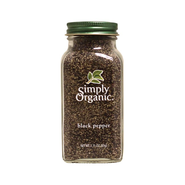 Simply OrganicBlack Pepper
