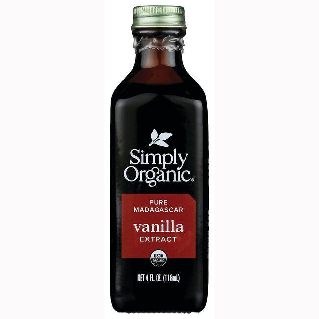 Simply Organic Pure Vanilla Extract 4 fl oz (118 mL ...