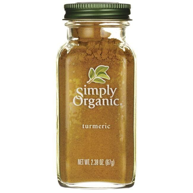 Simply Organic Turmeric 2.38 oz Powder Herbs and Supplements