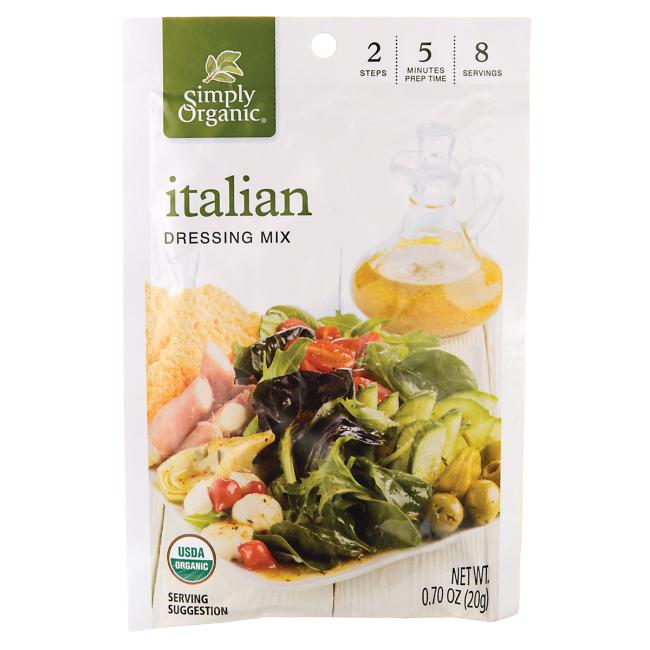 Simply OrganicItalian Dressing Mix
