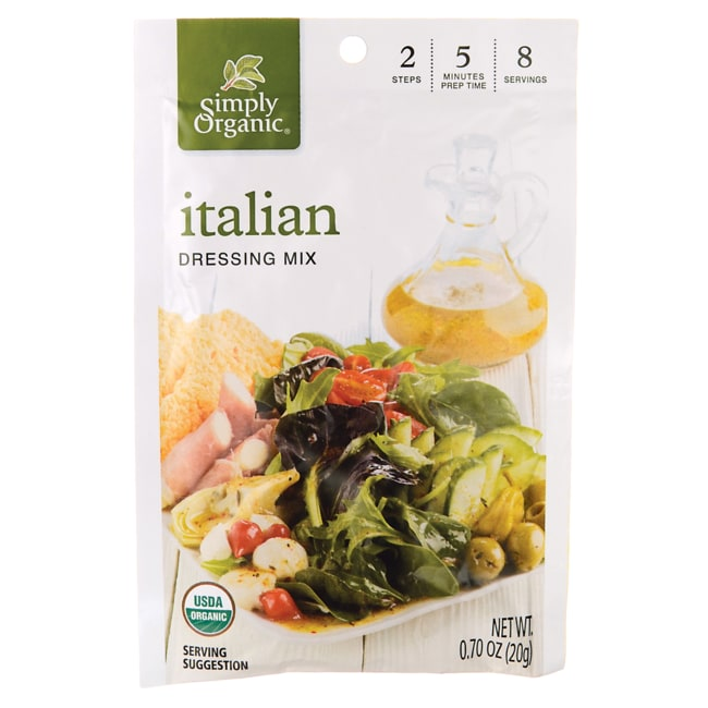 Simply OrganicItalian Dressing Mix