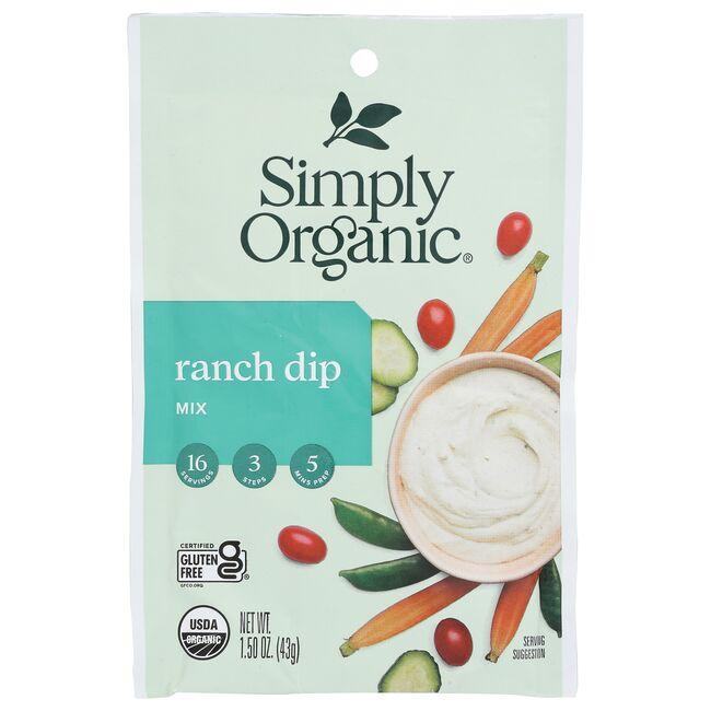 Simply OrganicRanch Dip Mix