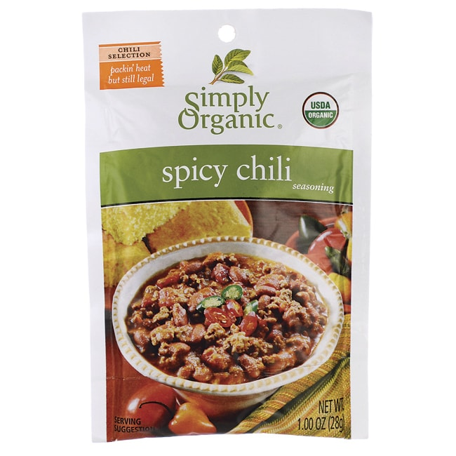 Simply OrganicSpicy Chili Seasoning