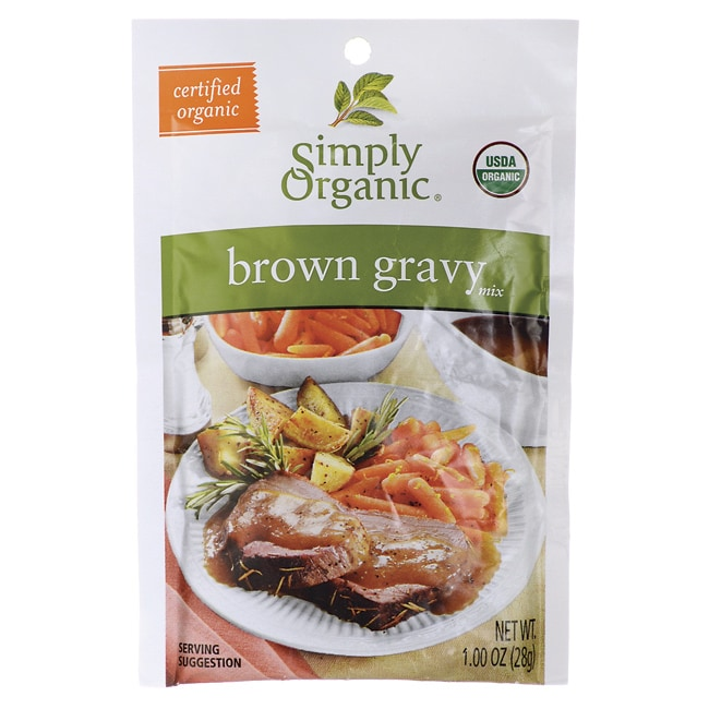 Simply OrganicBrown Gravy Mix
