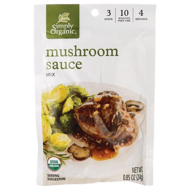 Simply OrganicMushroom Sauce Mix
