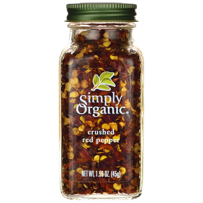 Simply OrganicCrushed Red Pepper