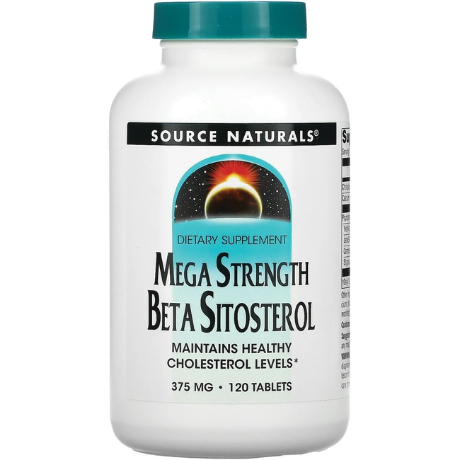 Source NaturalsMega Strength Beta Sitosterol
