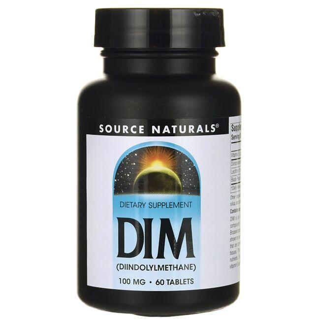 Source NaturalsDIM (Diindolylmethane)