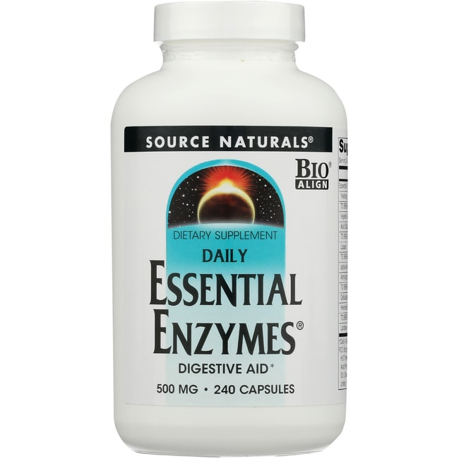 Source naturals enzymes