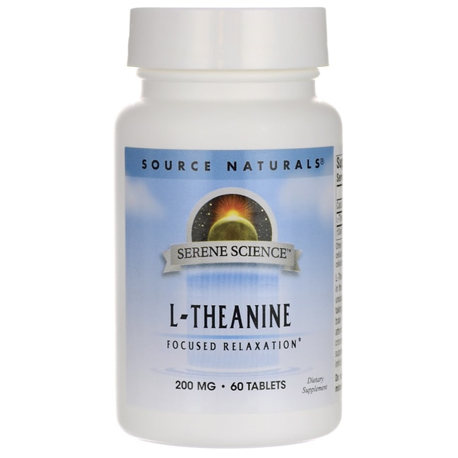 Source NaturalsSerene Science L-Theanine