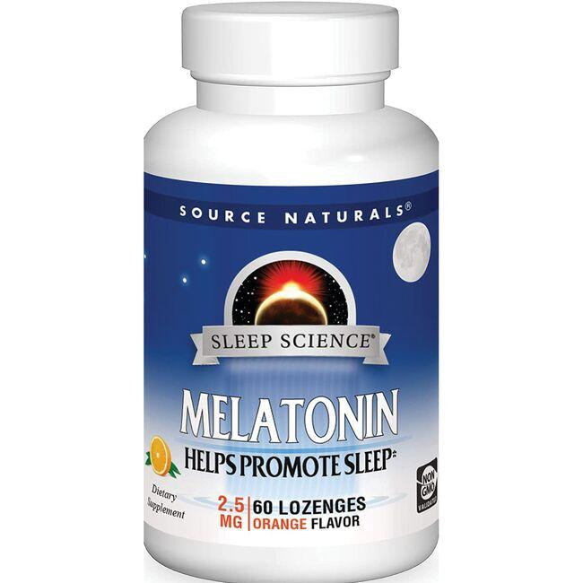 Source NaturalsMelatonin Lozenge - Orange