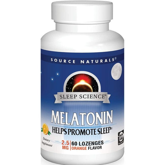 Source NaturalsMelatonin Sublingual Orange