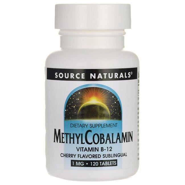 Source Naturals Methylcobalamin Cherry Lozenge