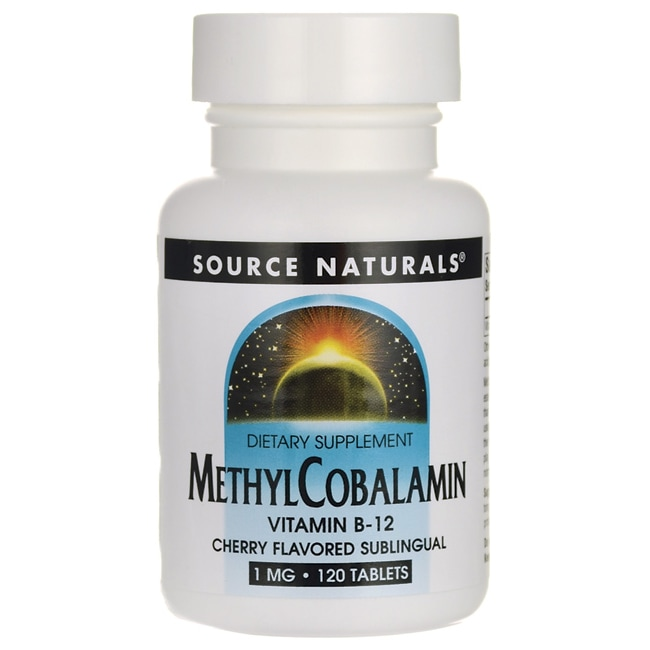Source NaturalsMethylcobalamin Sublingual Cherry