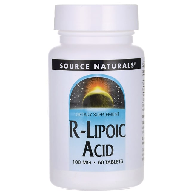 Source NaturalsR-Lipoic Acid