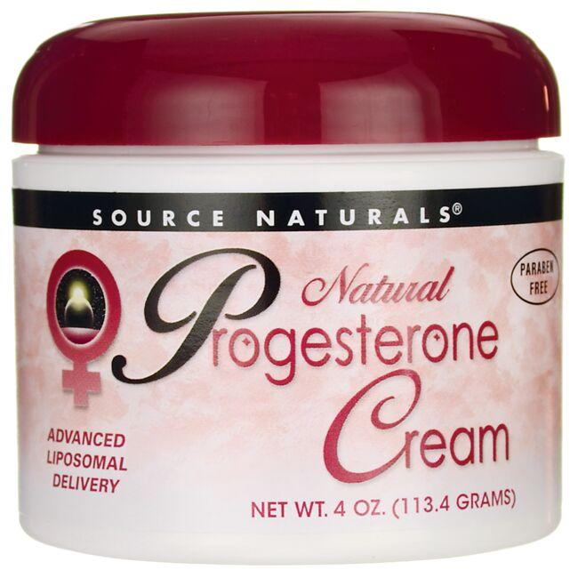 Source NaturalsNatural Progesterone Cream