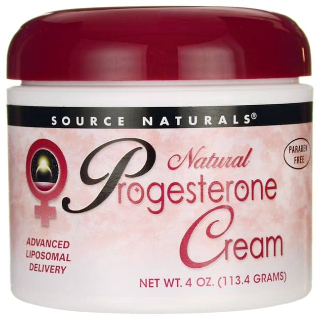 Source NaturalsNatural Progesterone Cream