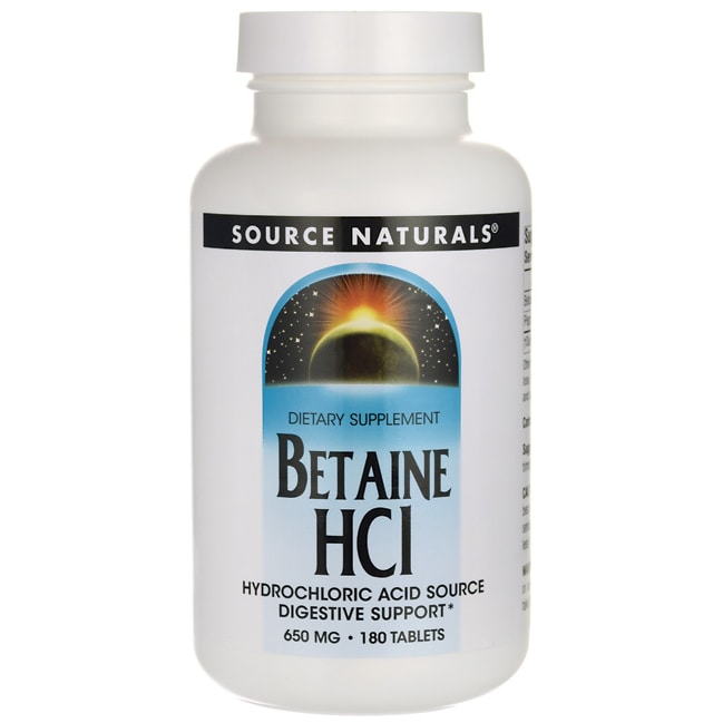 Source NaturalsBetaine HCl