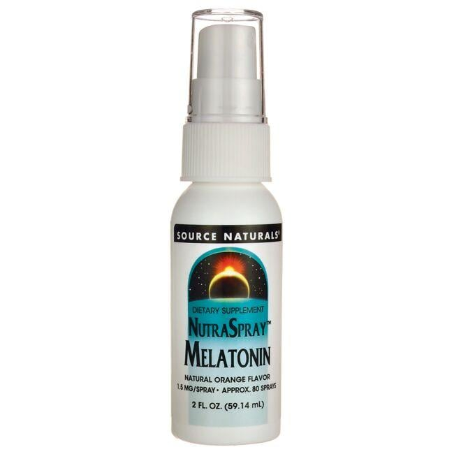 Source NaturalsNutraSpray Melatonin - Natural Orange Flavor