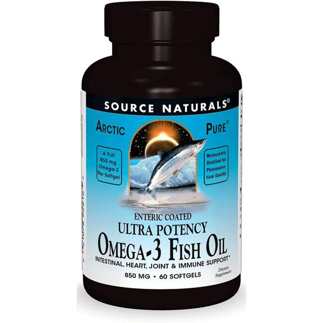 Source NaturalsArcticPure Ultra Potency Omega-3 Fish Oil