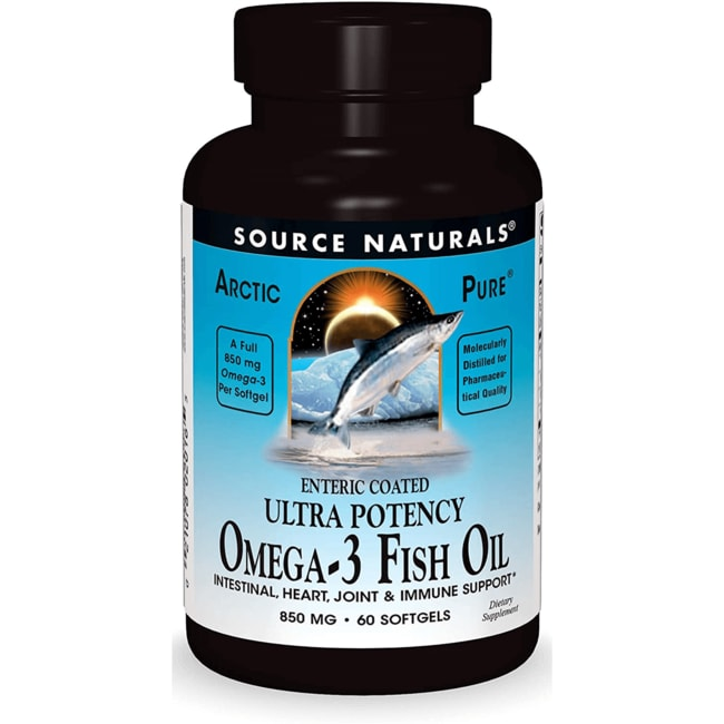 Source Naturals ArcticPure Ultra Potency Omega-3 Fish Oil