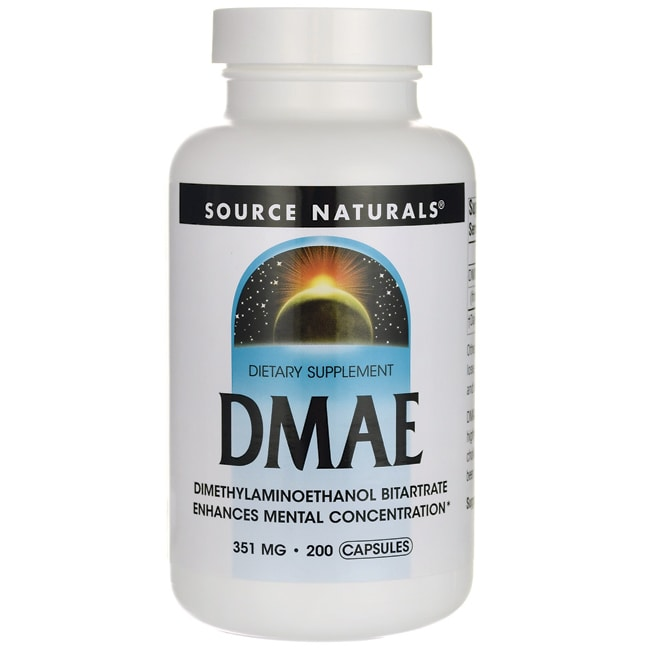 Source Naturals Dmae Reviews