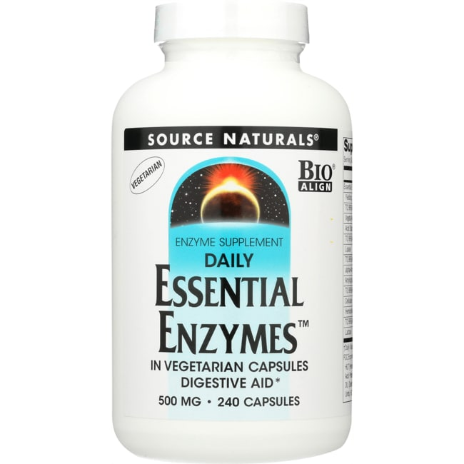 Source Naturals Daily Essential Enzymes