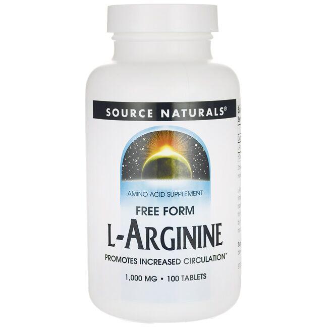 Source NaturalsL-Arginine Free Form