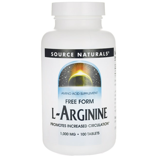 Source Naturals L-Arginine Free Form
